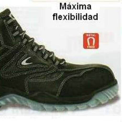 BOTA SEGURIDAD LIGERA Y FLEXIBLE